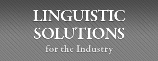Linguistic Solutions for the Industry
